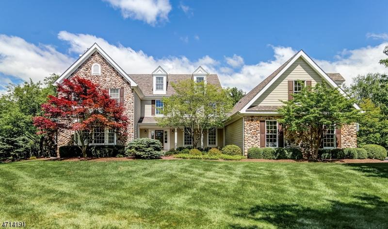 Maison unifamiliale pour l Vente à 4 Forestdale Drive Readington, New Jersey 08889 États-Unis