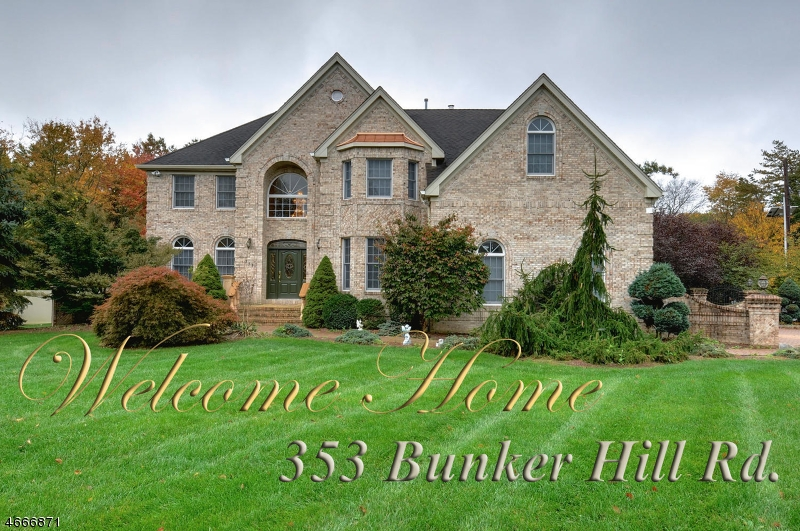 Single Family Home for Sale at 353 Bunker Hill Road Franklin, New Jersey 08540 United States