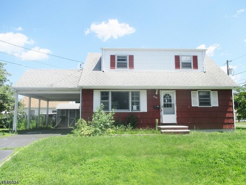 Casa Unifamiliar por un Venta en 200 Cooper Street Manville, Nueva Jersey 08835 Estados Unidos