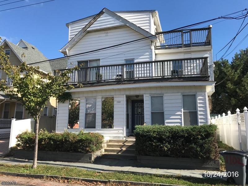 多户住宅 为 销售 在 1102 Heck Street 艾斯柏瑞公园市, 新泽西州 07712 美国