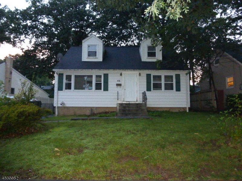 Частный односемейный дом для того Аренда на 45 Claremont Terrace Wayne, Нью-Джерси 07470 Соединенные Штаты