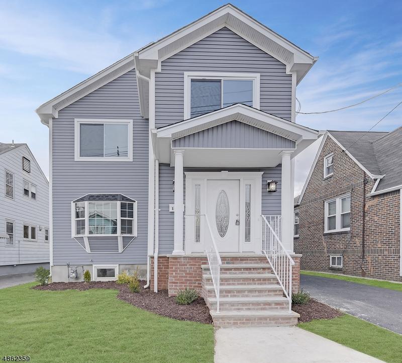 Частный односемейный дом для того Продажа на 1962 OSTWOOD TER Union, Нью-Джерси 07083 Соединенные Штаты