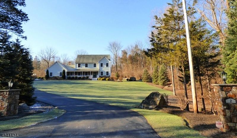 Частный односемейный дом для того Продажа на 2 WARD Road Hardwick, Нью-Джерси 07825 Соединенные Штаты