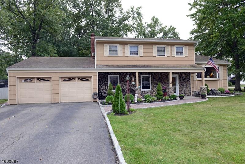 Частный односемейный дом для того Продажа на 10 Dari Court Lincoln Park, Нью-Джерси 07035 Соединенные Штаты