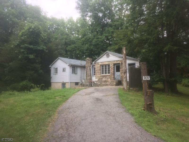 Частный односемейный дом для того Продажа на 909 Cedar Drive Stillwater, Нью-Джерси 07860 Соединенные Штаты