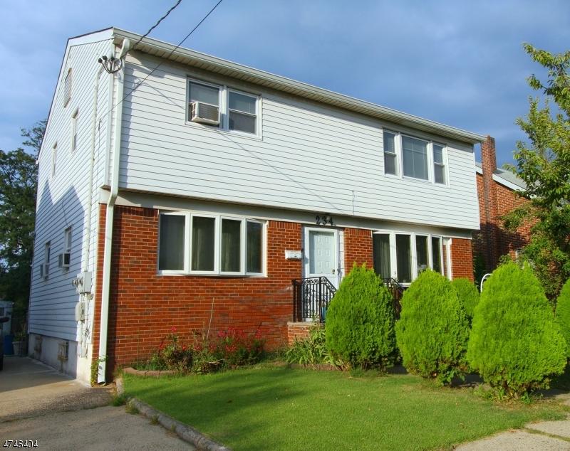 Частный односемейный дом для того Аренда на 234 Brighton Avenue Belleville, Нью-Джерси 07109 Соединенные Штаты