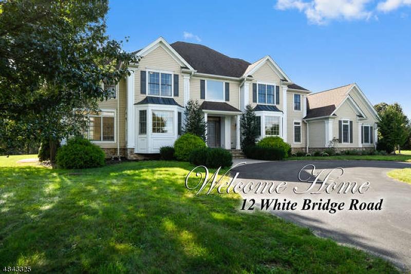 Maison unifamiliale pour l Vente à 12 WHITE BRIDGE Road Franklin, New Jersey 08867 États-Unis