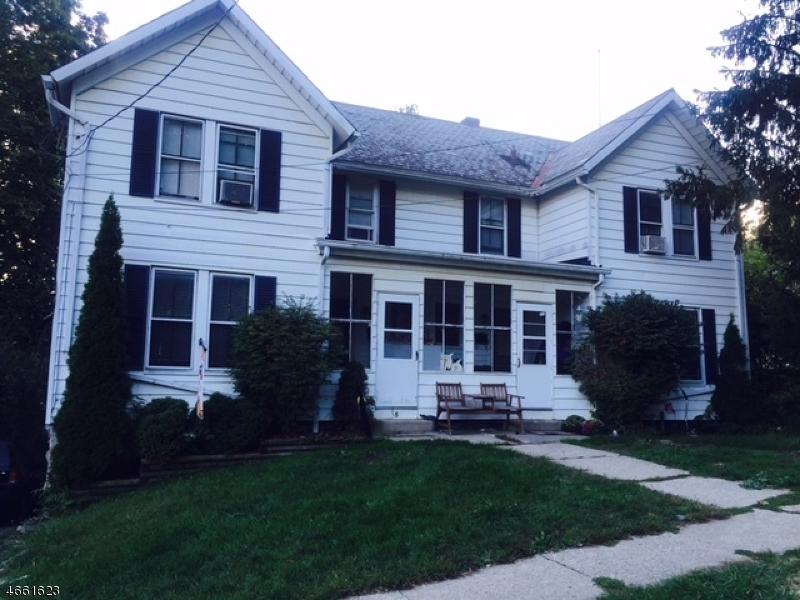 Многосемейный дом для того Продажа на 8-10 CLINTON Street Newton, Нью-Джерси 07860 Соединенные Штаты