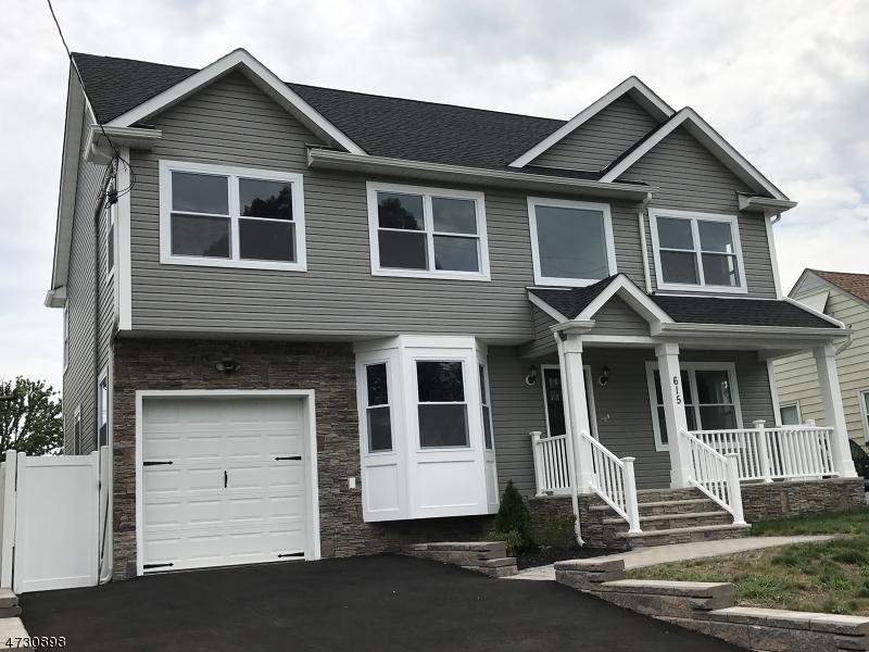 独户住宅 为 销售 在 615 Jefferson Avenue Kenilworth, 新泽西州 07033 美国
