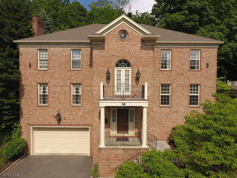 Частный односемейный дом для того Продажа на 36 Crestwood Drive Maplewood, Нью-Джерси 07040 Соединенные Штаты