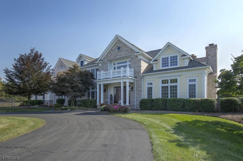 Enfamiljshus för Försäljning vid 430 Cedar Ridge Road Bedminster, New Jersey 07921 Usa