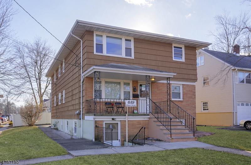 二世帯住宅 のために 売買 アット 649 Inman Avenue 649 Inman Avenue Woodbridge, ニュージャージー 07067 アメリカ合衆国