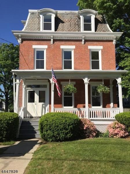 Частный односемейный дом для того Аренда на 55 Trinity Street Newton, 07860 Соединенные Штаты