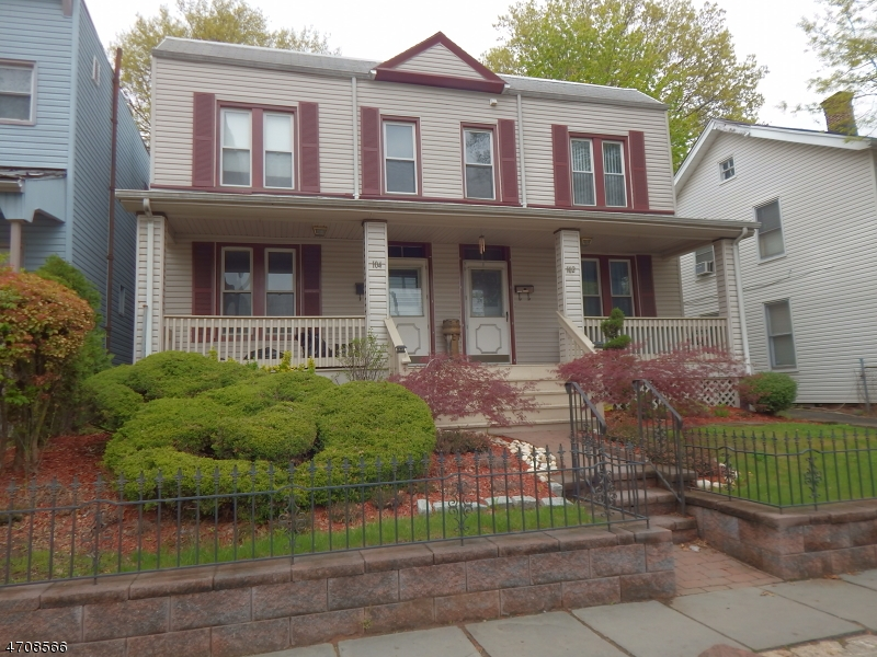 Single Family Home for Rent at 102-04 ELMWOOD Avenue East Orange, New Jersey 07018 United States