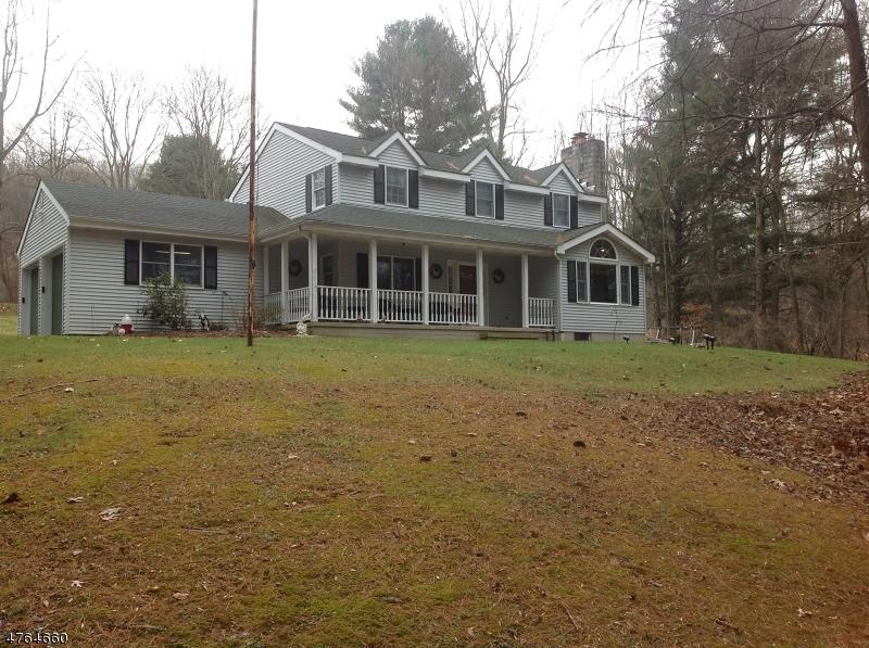 단독 가정 주택 용 매매 에 456 Valley Road 456 Valley Road Mansfield Township, 뉴저지 07863 미국