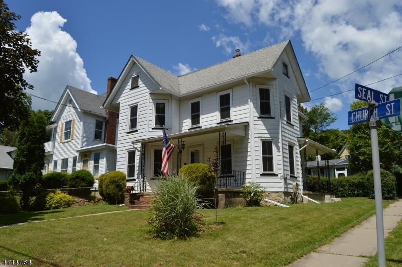 Casa Multifamiliar por un Venta en 55 Church Street High Bridge, Nueva Jersey 08829 Estados Unidos