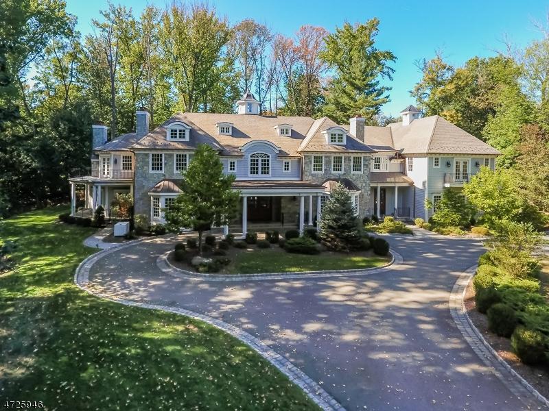 Maison unifamiliale pour l Vente à 101 Old Short Hills Road Millburn, New Jersey 07078 États-Unis