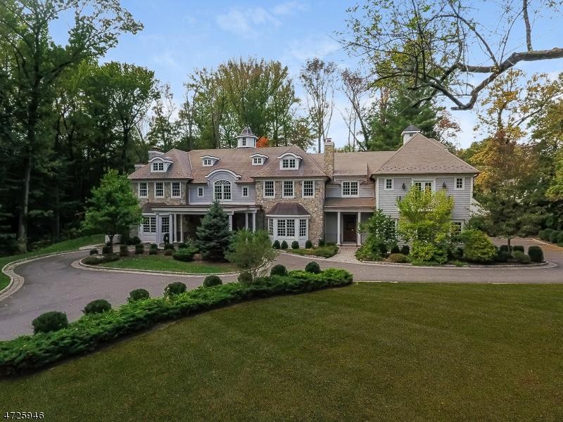 独户住宅 为 销售 在 101 Old Short Hills Road 米尔本, 新泽西州 07078 美国