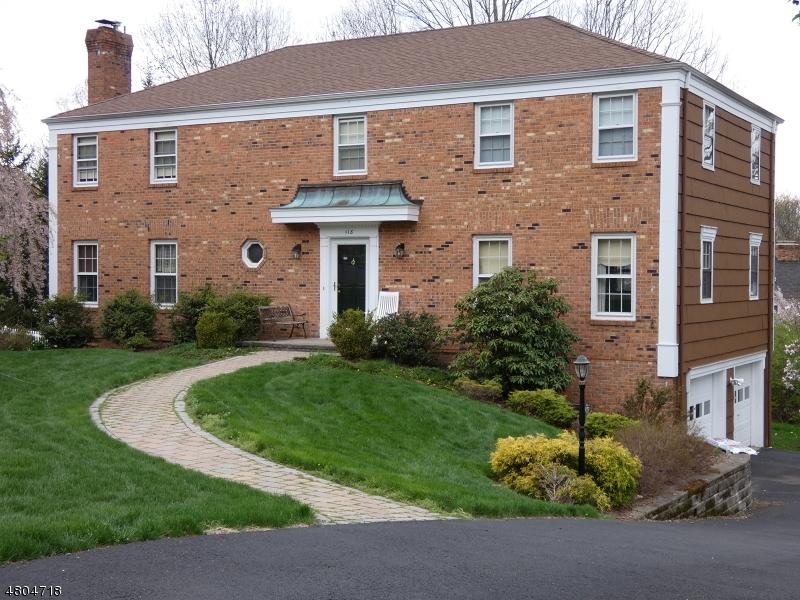 独户住宅 为 销售 在 118 Glenmere Drive 查塔姆, 新泽西州 07928 美国