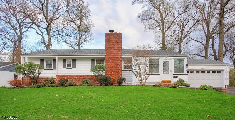 Частный односемейный дом для того Продажа на 191 VINTON Circle Fanwood, Нью-Джерси 07023 Соединенные Штаты