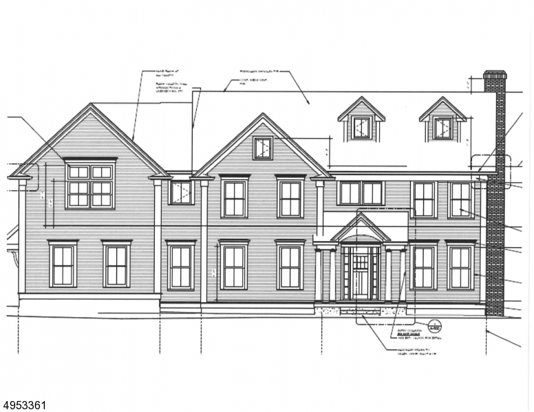 Single Family Homes pour l Vente à Chatham, New Jersey 07928 États-Unis