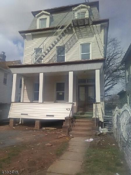 Частный односемейный дом для того Аренда на 43 Sayre Street Elizabeth, 07208 Соединенные Штаты