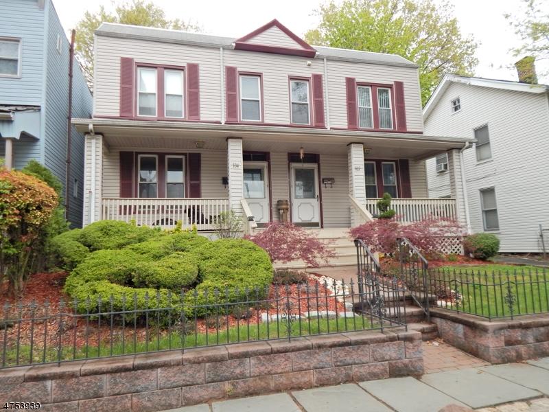 Частный односемейный дом для того Аренда на 102-04 ELMWOOD Avenue East Orange, Нью-Джерси 07018 Соединенные Штаты