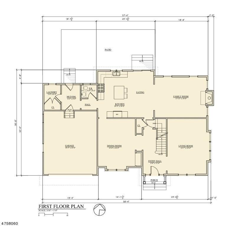 Частный односемейный дом для того Продажа на 8 6th Street New Providence, Нью-Джерси 07974 Соединенные Штаты