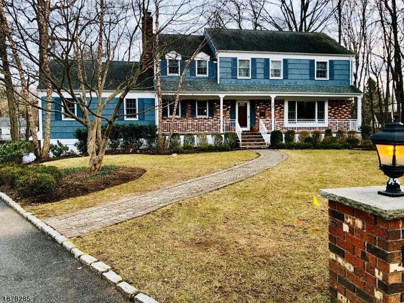 Single Family Homes pour l Vente à Roseland, New Jersey 07068 États-Unis