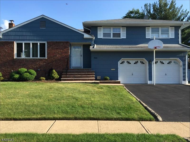 Частный односемейный дом для того Продажа на 700 Moses Drive Rahway, Нью-Джерси 07065 Соединенные Штаты
