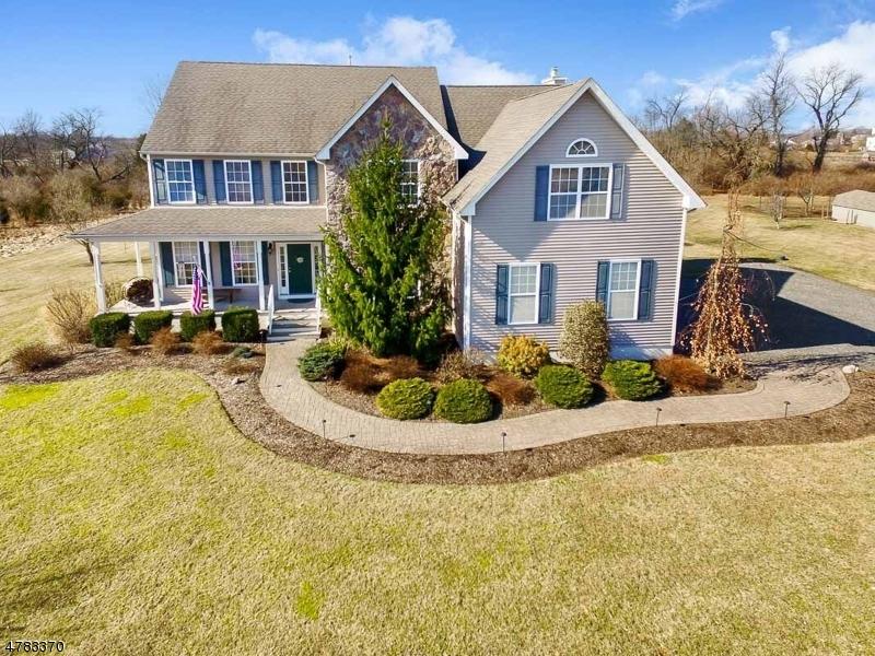 Частный односемейный дом для того Продажа на 1231 County Road 519 Kingwood, Нью-Джерси 08825 Соединенные Штаты