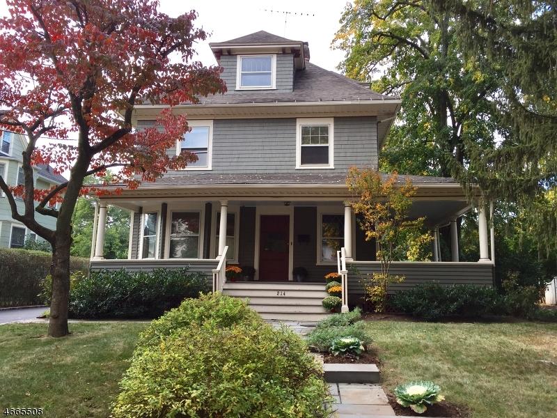 Maison unifamiliale pour l Vente à 214 Lorraine Avenue Montclair, New Jersey 07043 États-Unis