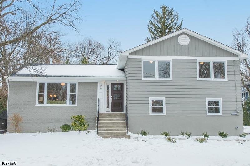 Частный односемейный дом для того Продажа на 1 Girard Place Maplewood, 07040 Соединенные Штаты