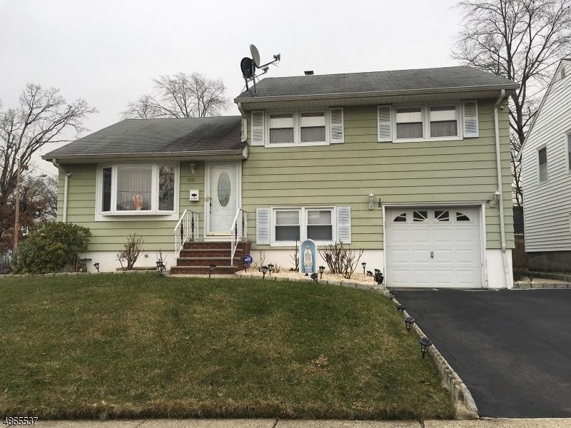 Частный односемейный дом для того Продажа на 1103 ELKER Road Union, Нью-Джерси 07083 Соединенные Штаты
