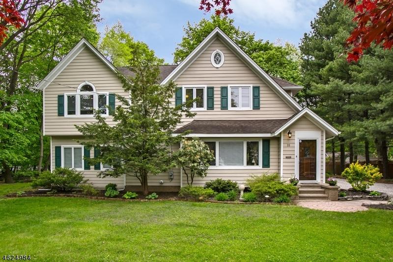 Частный односемейный дом для того Продажа на 33 Aqueduct Avenue Pompton Plains, 07444 Соединенные Штаты