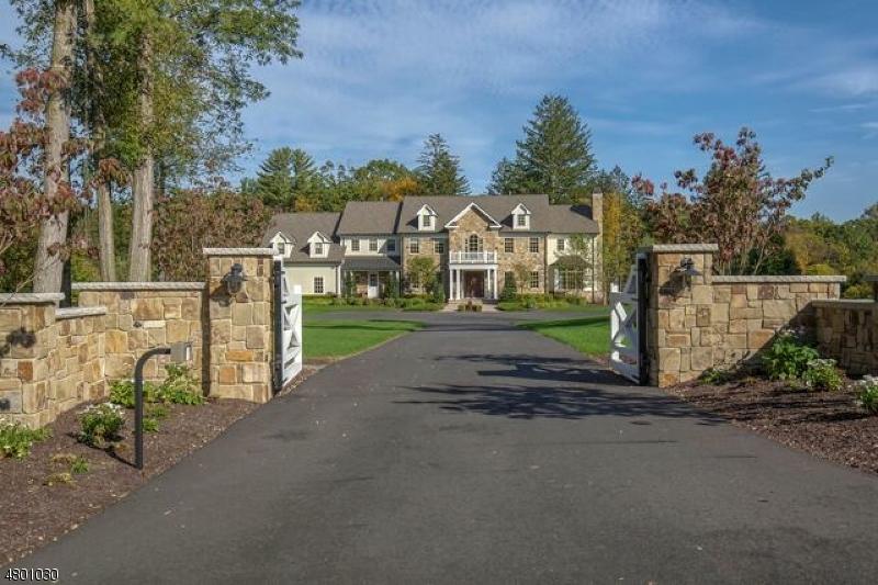 Casa Unifamiliar por un Venta en 66 Mosle Road Peapack Gladstone, Nueva Jersey 07931 Estados Unidos