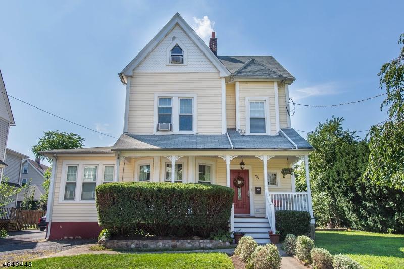 Частный односемейный дом для того Продажа на 43 Wayne Place Nutley, 07110 Соединенные Штаты