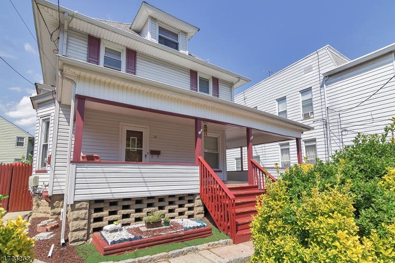 واحد منزل الأسرة للـ Sale في 14 Division Avenue 14 Division Avenue Belleville, New Jersey 07109 United States