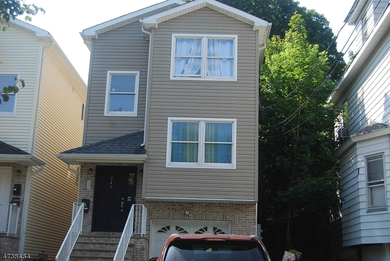 Single Family Home for Rent at 247 BURGESS Place Passaic, New Jersey 07055 United States