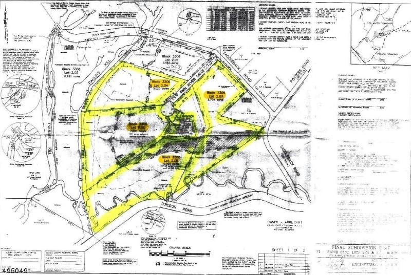 Terrain pour l Vente à Stillwater, New Jersey 07860 États-Unis