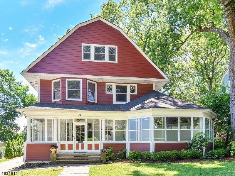 Многосемейный дом для того Продажа на 36 Hazelwood Road Bloomfield, 07003 Соединенные Штаты
