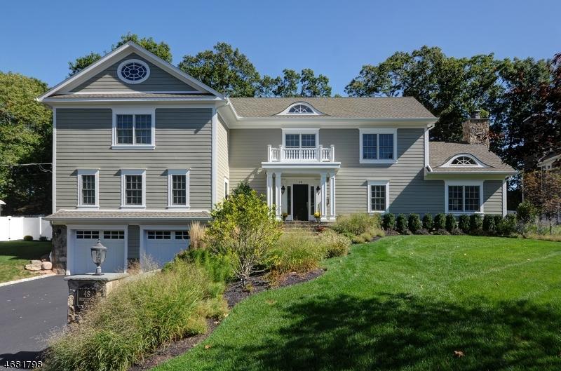 Частный односемейный дом для того Продажа на 48 Barchester Way Westfield, 07090 Соединенные Штаты