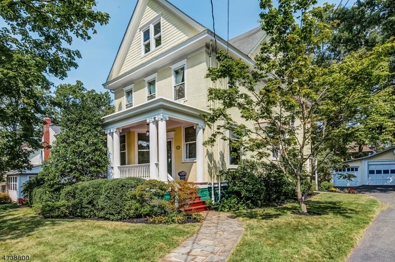 Частный односемейный дом для того Продажа на 33 Sommer Avenue Maplewood, Нью-Джерси 07040 Соединенные Штаты