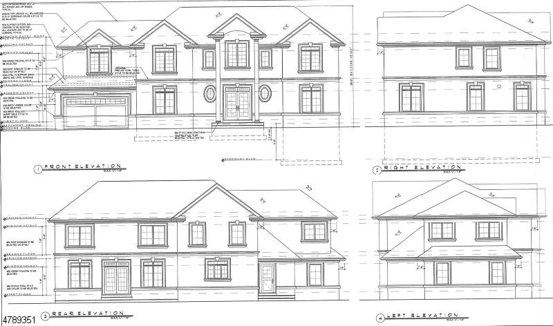 Частный односемейный дом для того Продажа на 154 Garden Avenue Paramus, Нью-Джерси 07652 Соединенные Штаты