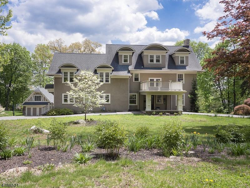独户住宅 为 销售 在 166 Laurel Hill Road Mountain Lakes, 新泽西州 07046 美国