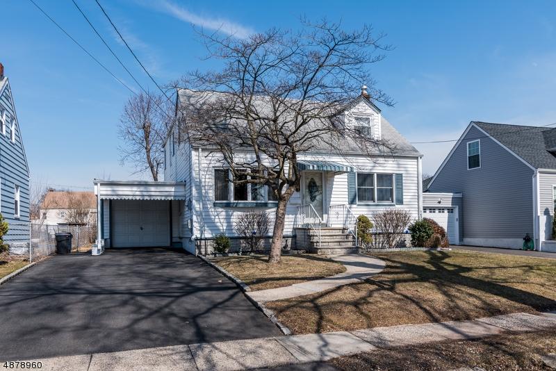 Частный односемейный дом для того Продажа на 2583 HAMILTON TER Union, Нью-Джерси 07083 Соединенные Штаты