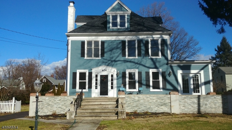 Single Family Home for Sale at 604 WILLOW Street Cranford, New Jersey 07016 United States