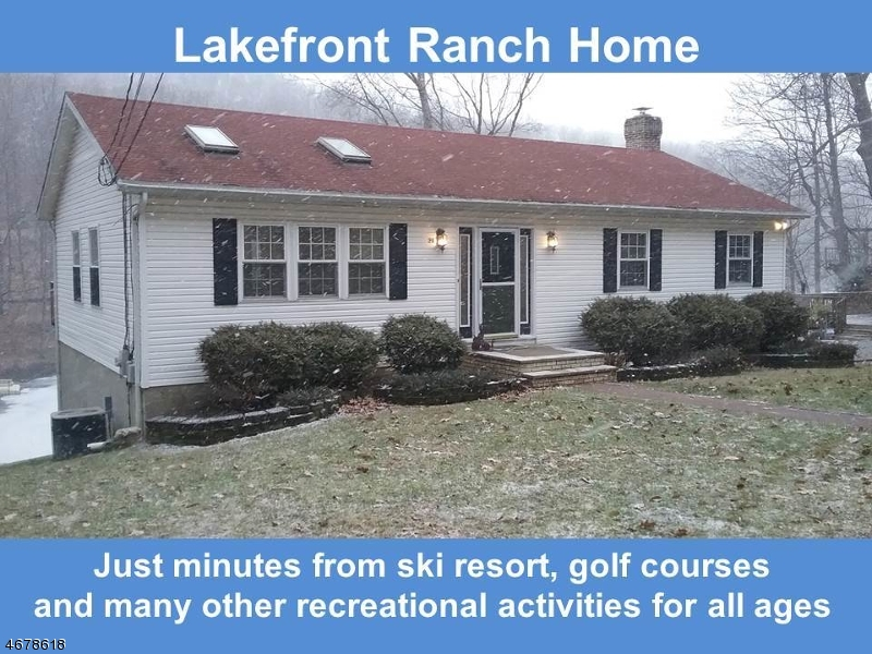 Частный односемейный дом для того Продажа на 33 East Shore Dr(Lakefront) Vernon, 07462 Соединенные Штаты