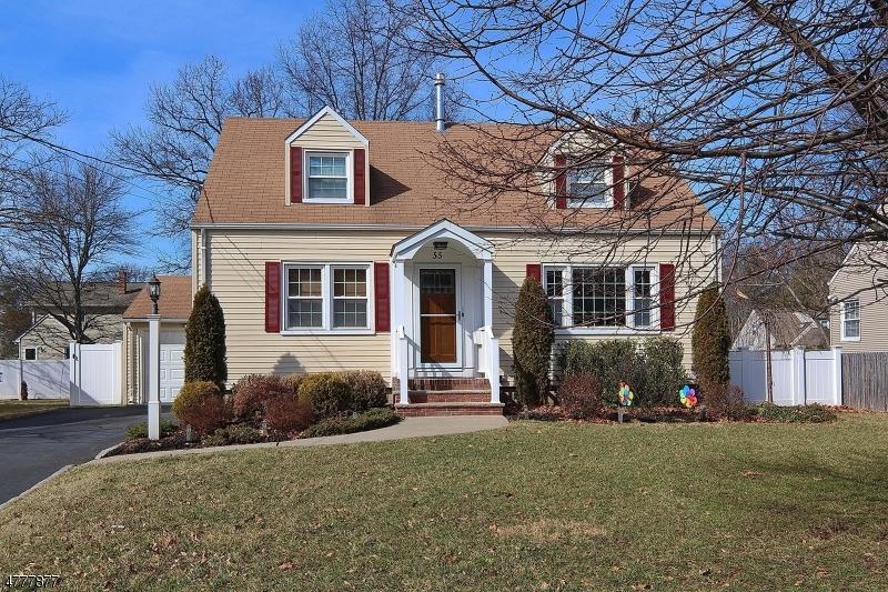 Частный односемейный дом для того Продажа на 55 Shady Lane Fanwood, Нью-Джерси 07023 Соединенные Штаты