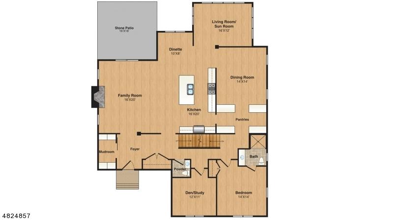 Частный односемейный дом для того Продажа на 41 DELLWOOD Avenue Chatham, Нью-Джерси 07928 Соединенные Штаты